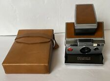 POLAROID SX-70 Land Camera, Vintage Model, with Original Leather Case