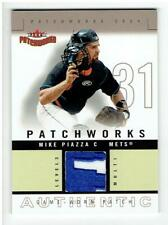 Mike Piazza 2004 Fleer Patchworks Game Used Patch #MP 08/50