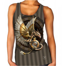STEAMPUNK DRAGON - Official Anne Stokes Merchandise Womens Vest Sizes XS - 5XL