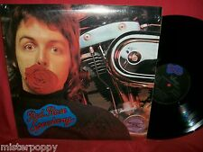 PAUL McCARTNEY & WINGS Red Rose Speedway (THE BEATLES) LP 1973 ITALY MINT- Book