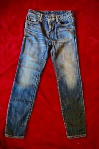 R13 Relaxed Skinny Jeans Size 24 Dark Wash Blue Denim! PERFECT!
