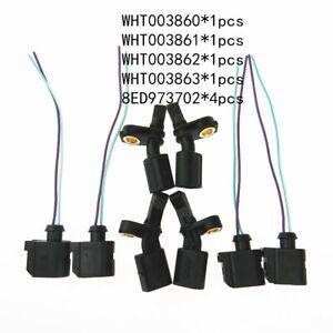 ABS Wheel Speed sensor plug Kit for Audi A1 VW Polo Seat WHT003860 8E0 973 702