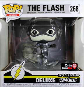 Funko POP! DC Heroes ~ DELUXE FLASH B&W EXCLUSIVE ~ Jim Lee Collection