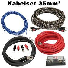 35mm² Kabelset für Verstärker Endstufe / hochwertig