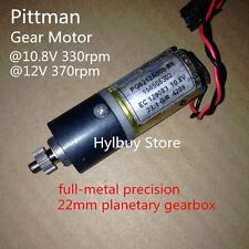 Pittman PG6212A008 10.8v 22mm Metal Planetary Gearbox Gear Motor DC12v 370rpm