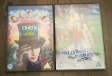Willy Wonka & The Chocolate Factory Plus Charlie And The Chocolate Factory DVDs