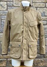 ** TIMBERLAND ** Men's Beige Zip Up Waterproof Lightweight Jacket Coat Mens M