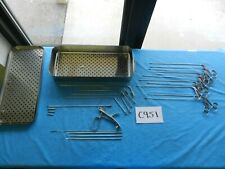 Storz Pilling R Wolf Surgical Ent Laryngeal Instrument Set With Case