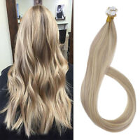 Ugeat Mini Skin Weft Tape in Human Hair Extensions 20g Highlighted Blonde 18/613