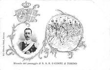 4108) FERRARA 1902 RICORDO DEL PASSAGGIO DEL CONTE DI TORINO.