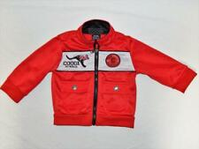 COOGI Baby Boys Red Polyester Full Zip Athletic Track Jacket Size 6-9 Months