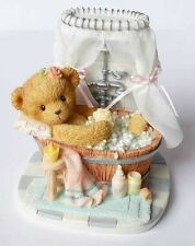 CHERISHED TEDDIES KIRSTEN, BEAR, BATHTUB, 4004997, 2006 CLUB EXCLUSIVE, MINT BOX