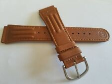 New Mens Light Brown Timex Water Resistant Atlantis 100 m 19mm Sport Watch Band
