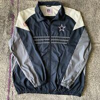 NFL Dallas Cowboys Football Windbreaker Jacket Mens XL