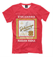 Stolichnaya t-shirt - non-alcoholic russian vodka print