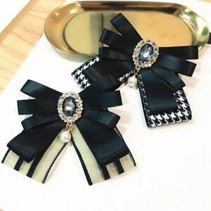 Handmade Women Bow Tie Butterfly Skinny Slim Fashion Wedding Hotel Bank Uniforms