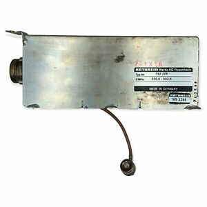 Band Pass Filter Tunable 890-902.5Mhz KATHREIN 7/16-N(M)