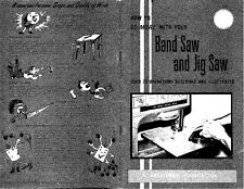 1969 Craftsman How to do more with your Band Saw and Jig Saw Instructions