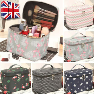 Large Capacity Make Up Bags Vanity Case Cosmetic Nail Tech Storage Beauty Box