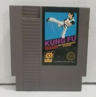 Nes (Nintendo Entertainment System) Kung Fu Tested Works Game Cartridge Only
