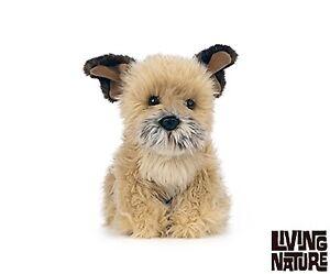 Living Nature Border Terrier Dog Soft Toy 22cm