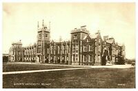 Vintage postcard Queens University Belfast Northern Ireland W E Walton