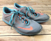 Nike FS LITE Run 2 Womens Sz 9.5 Gray Running Training Shoes 684667-006