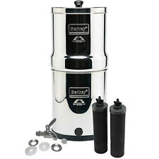 Travel Berkey System w/ Stainless Steel Spigot & 2 Black Berkey Filters