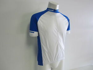 Verge Men's XL Short Sleeve Cycling Jersey Blue/White New