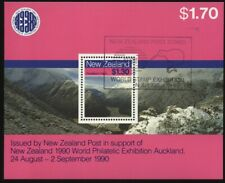 New Zealand 1988 Scenic Walking Tracks Miniature Sheet UNH