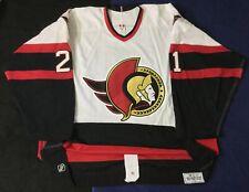 Ottawa Senators Bryan Smolinski #21 Authentic CCM Jersey Game Worn 2003 Size56