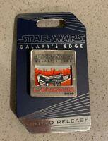 Millennium Falcon Landing Star Wars Galaxy's Edge Opening Day 2019 Disney Pin
