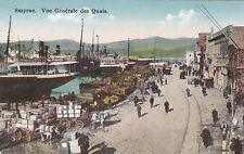 TURKEY - Izmir Smyrne - Vue generale des Quais