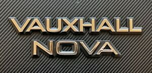 Reproduction Vauxhall & Nova Badge Later type