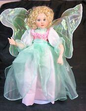 "Paradise Galleries - Heather The Fairy Child - 13"" Porcelain Doll NIB"