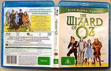 THE WIZARD OF OZ (1939) - Sing-Along Version (Blu-ray REGION B) -MINT-