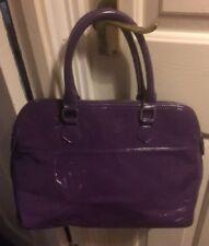 Purple Patent Handbag - Excellent Condition