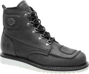 Harley-Davidson Men's Hagerman Black or Brown Motorcycle Boots D93469 D93470