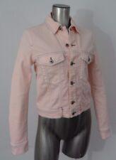 Diesel Ruinle women's denim jean jacket powder pink S NWT