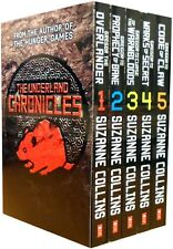 Suzanne Collins Gregor Underland Chronicles Collection 5 Books Set Code of Claw