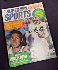VTG Super SPORT Magazine 1971 Beliveau Lions NFL Willis Reed Kelly NBA Detroit
