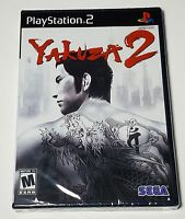 Yakuza 2 (Sony PlayStation 2, 2008) Brand New/Sealed & VGA Quality!