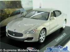 MASERATI QUATTROPORTE GTS MODEL CAR 1:43 SCALE IXO GREY V8 SALOON K8Q