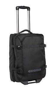 CHIEMSEE Boardcase Trolley Reisetasche Tasche Deep Black Neu