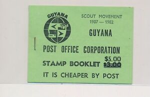 LO38003 Guyana 1982 scout movement good booklet MNH