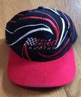 Vintage Bud Racing Nascar Budweiser Snapback Hat