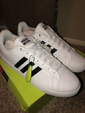 ADIDAS CF ADVANTAGE AW4294 WHITE LEATHER SHOES  SIZE 11 MEN'S  NEW IN BOX