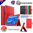 """For Lenovo Tab M10 FHD Plus 10.3"""" Tablet Business Leather Folio Stand Case Cover"""