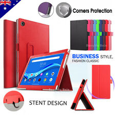 "For Lenovo Tab M10 FHD Plus 10.3"" Tablet Business Leather Folio Stand Case Cover"