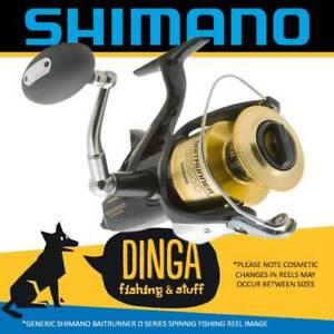 Shimano Baitrunner D 8000 Spinning Fishing Reel New